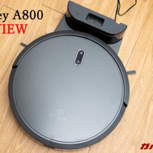 amarey A800のレビュー!スペアパーツも日本で購入できる高コスパなロボット掃除機!