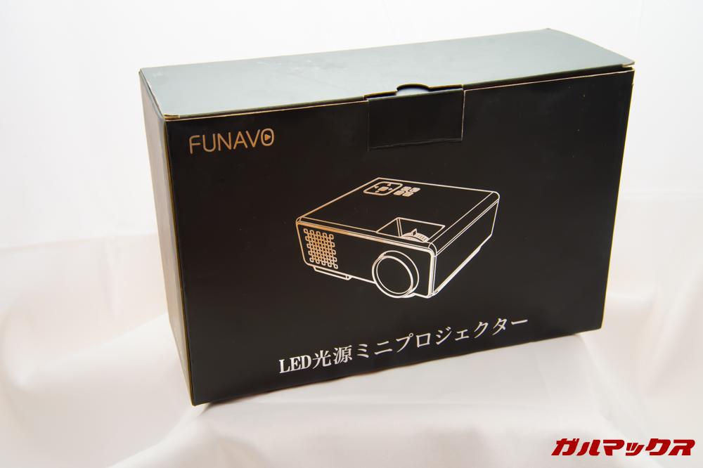 FUNAVO RD815の外箱はブラックボックス