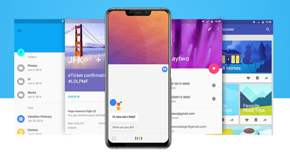Elephone A5はAndroid 8.1を搭載。
