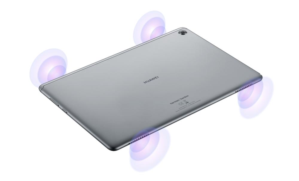 Huawei MediaPad M5 liteは4スピーカー搭載で音の広がりが凄い!