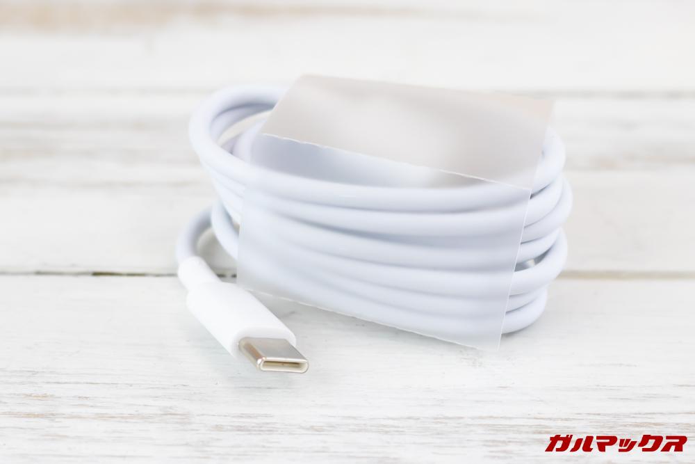 Huawei Mate 20 liteにはUSB Type-Cケーブルが付属しています。