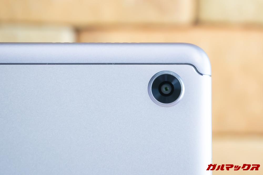 Huawei MediaPad M5 liteには背面にシングルカメラを搭載しています。
