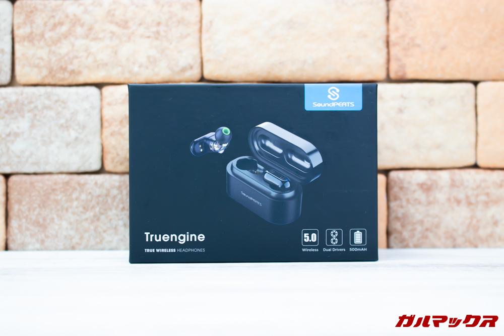 SoundPEAT Truengineの外箱はクオリティーが高いのでプレゼント用にも最適です。