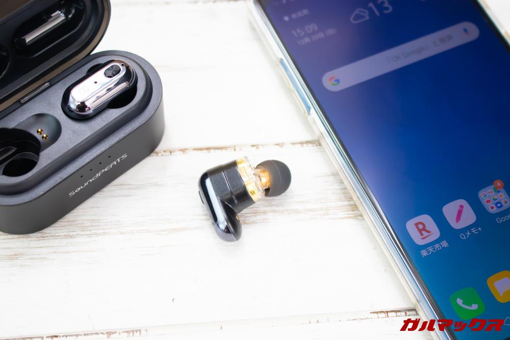 SoundPEAT TruengineはAACに対応しているので対応機種と接続すると音の遅延が少なく高音質で音源の伝達が可能です。
