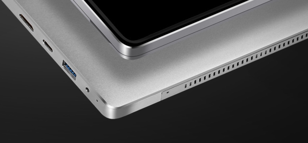 VOYO VBook i7 Plusの外観は細部に至るまで作り込まれており、非常に高品質です。