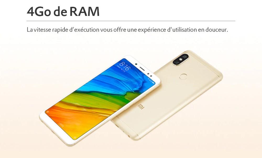 Xiaomi Redmi Note 5/RAM4GB(Snapdragon 636)
