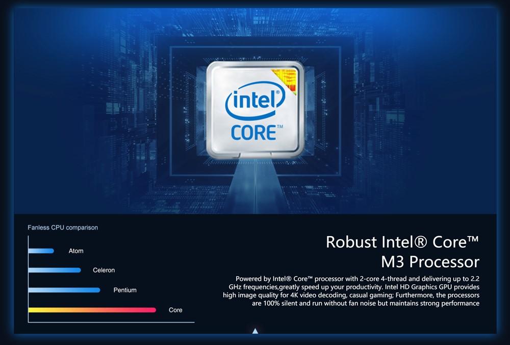 CHUWIUbookはパワフルなCore M3を搭載。メモリも大容量な8GBを搭載!
