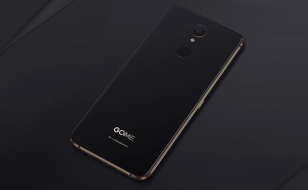 GOME U7は本体背面に指紋認証も搭載しています。