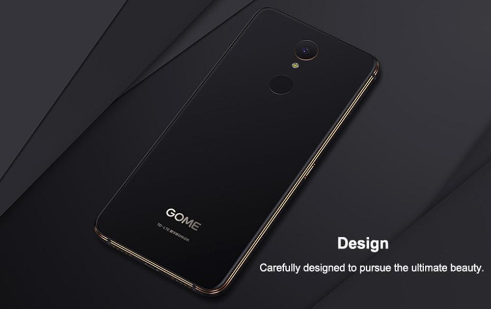 GOME U7はデザイン性にもこだわったスマートフォン。