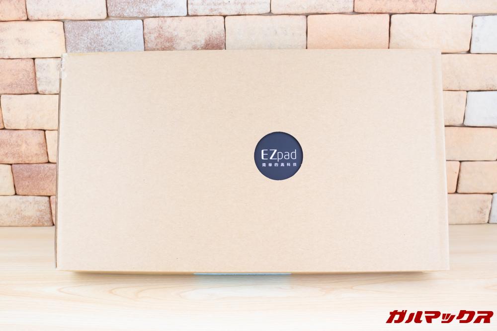 Jumper EZbook X1の外箱は化粧箱が傷つかない外装箱に入っています。