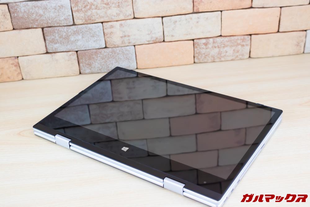 Jumper EZbook X1はタブレット形状で利用できます。
