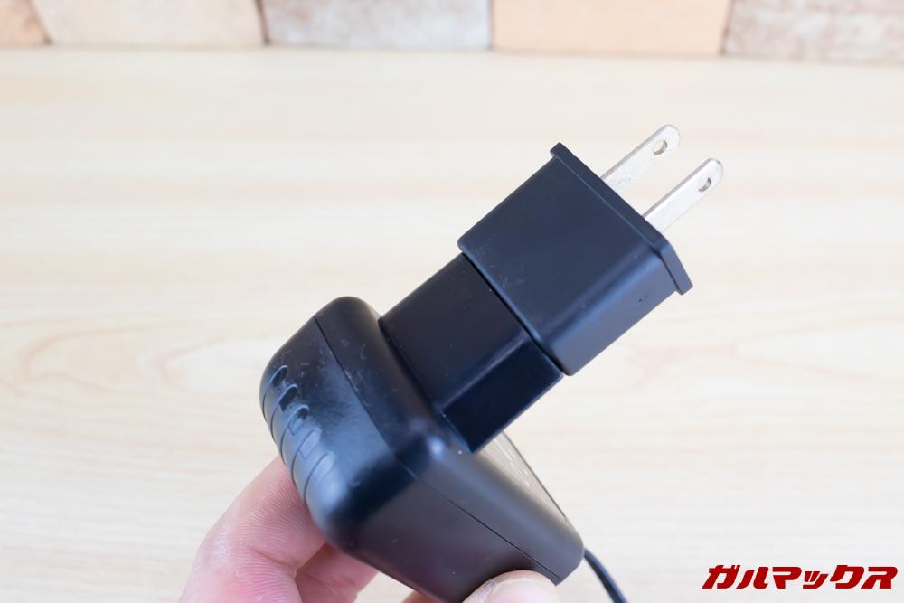 Xiaomi JV71 Vacuum Cleanerの充電器を利用するにはプラグ変換アタッチメントが必要なので購入しておきましょう。