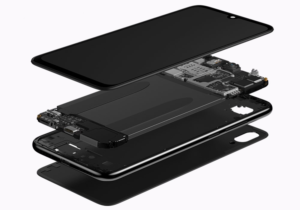 Xiaomi Redmi Note 7はイヤホンジャックを搭載しているのでお気に入りのイヤホンやヘッドホンを利用できる。