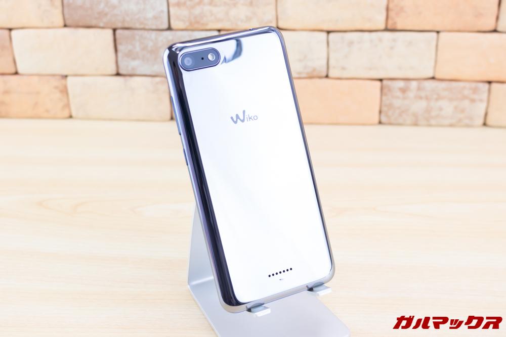 Wiko Tommy3 Plusのミラーカラーは非常に美しいです。
