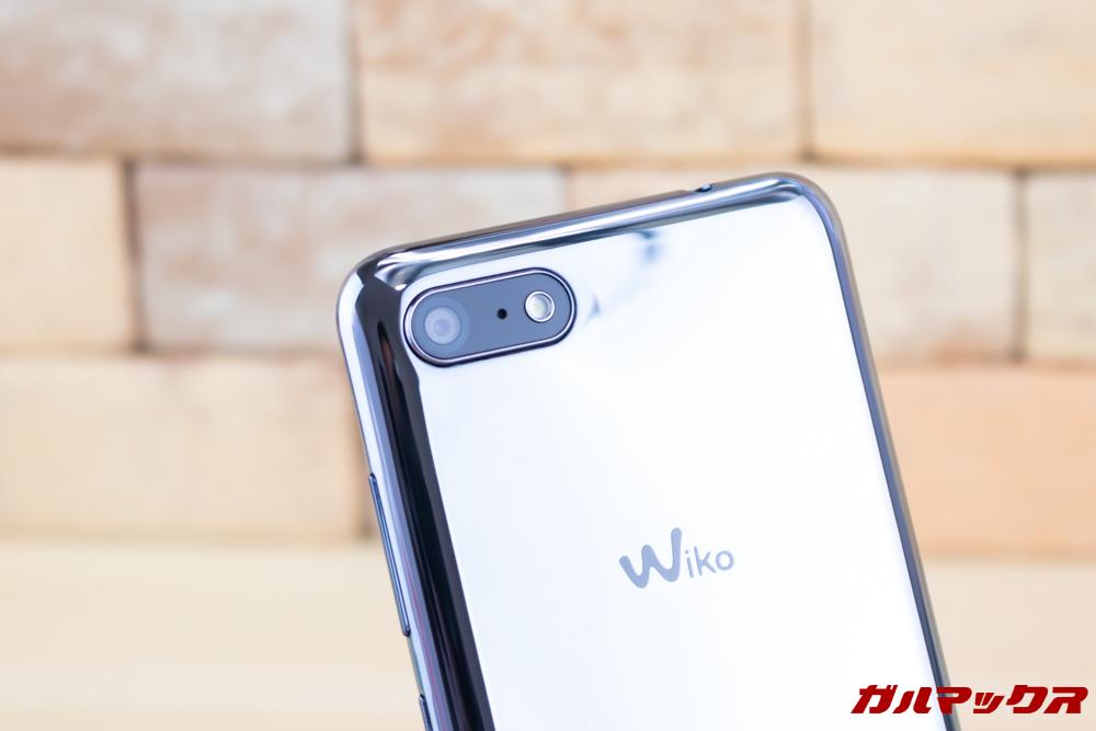 Wiko Tommy3 Plusの背面には1300万画素のシングルカメラが備わっています。