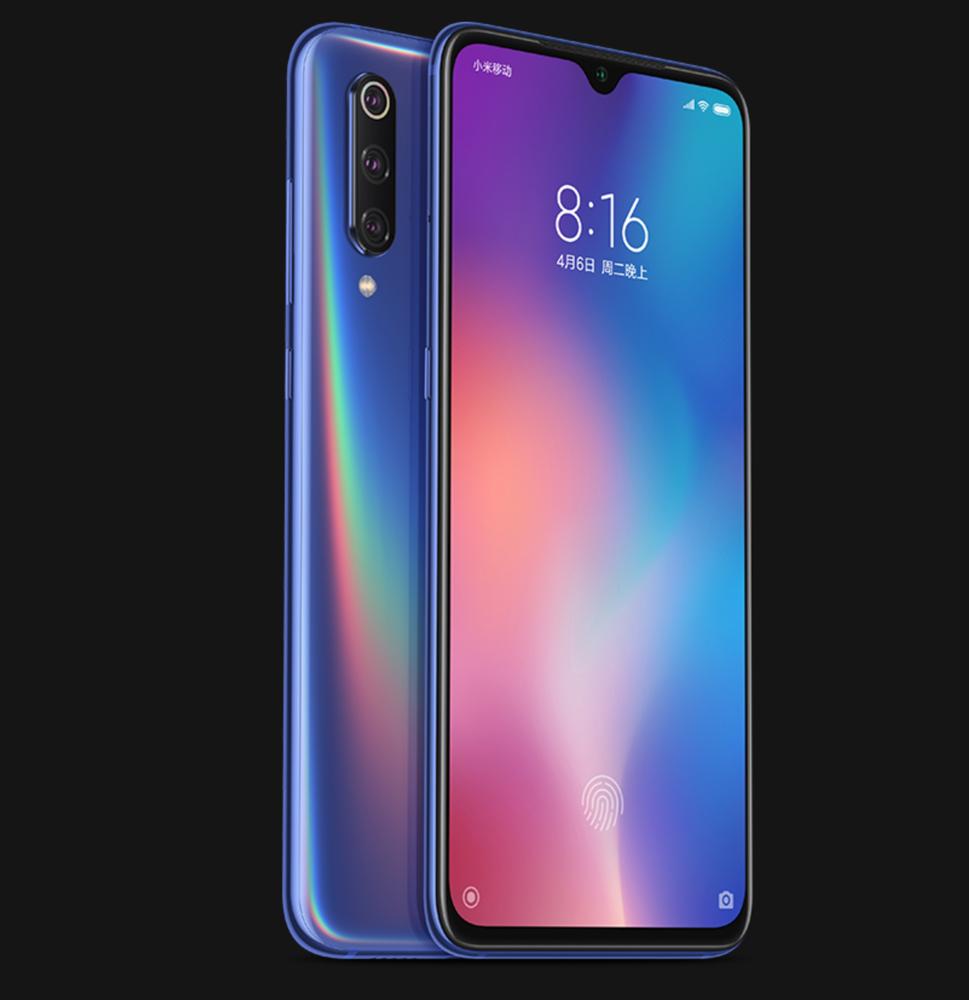 Xiaomi Mi 9のブルー
