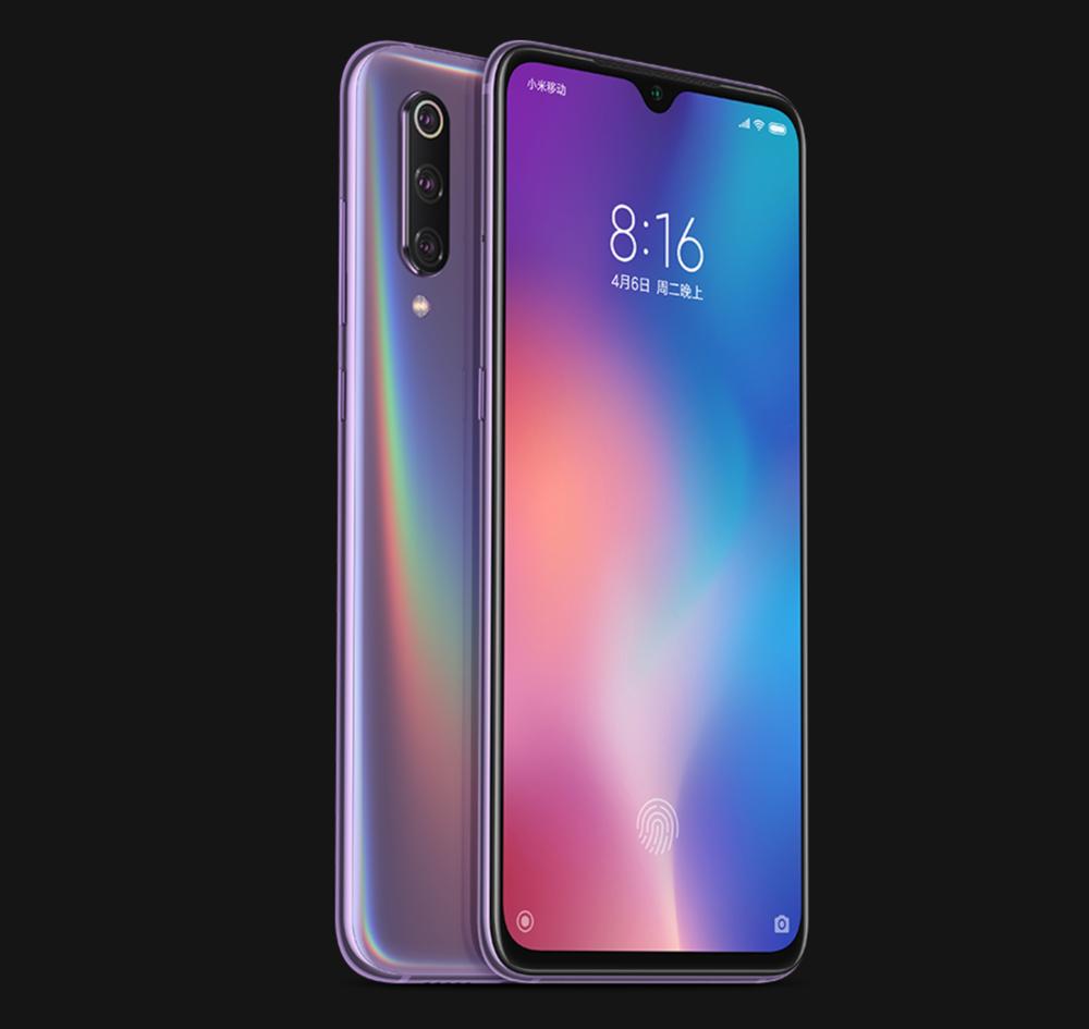 Xiaomi Mi 9のパープル