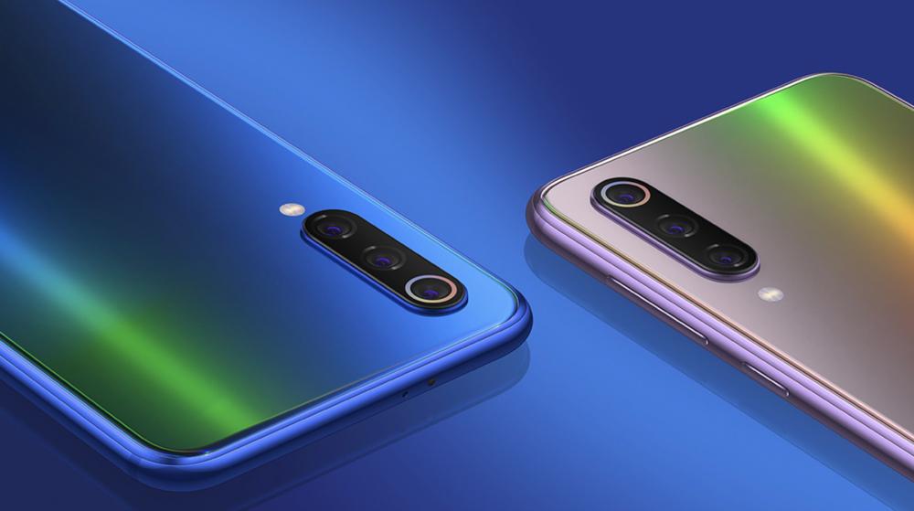 Xiaomi Mi 9 SEのブルー