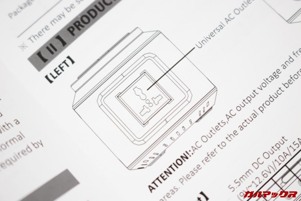 Alfawise S420の通常モデルは日本のコンセント形状とは異なるプラグが備わっています。