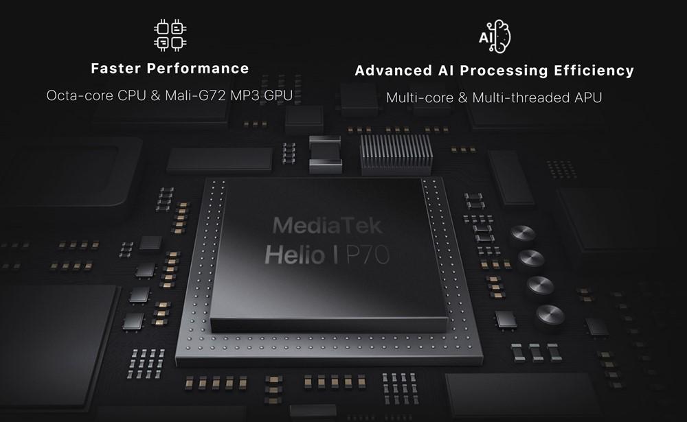 UMIDIGI S3 ProはHelio P70を搭載