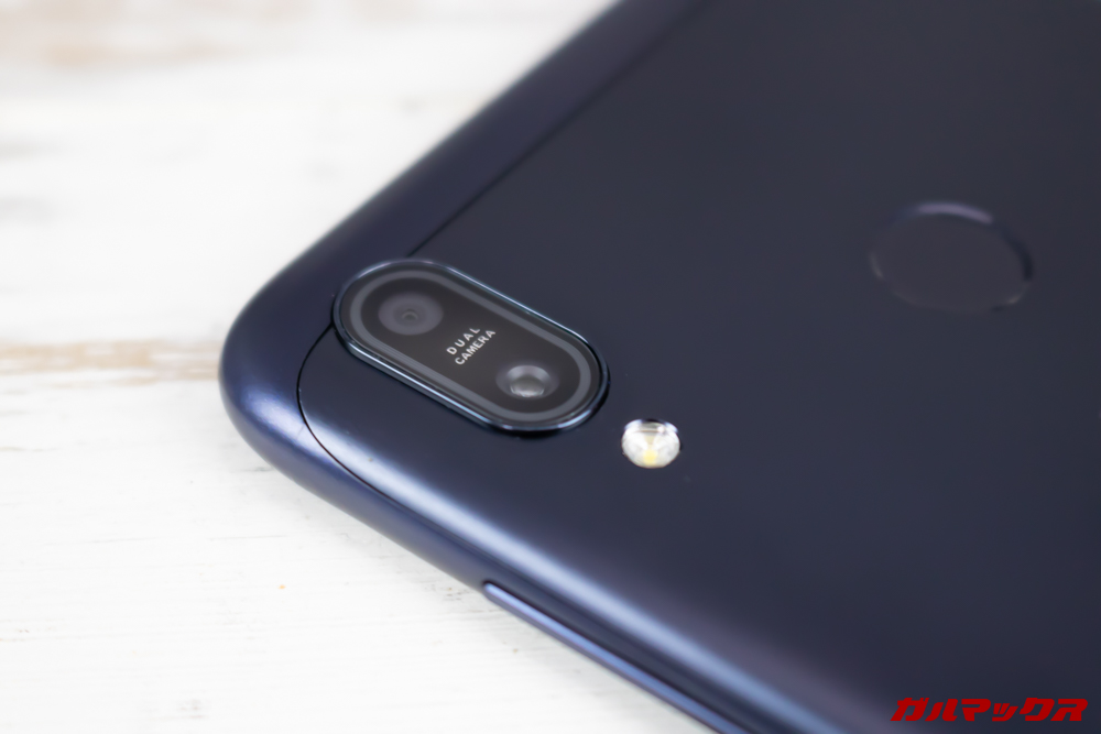 ZenFone Max (M2)はAI対応のデュアルカメラを搭載しています。