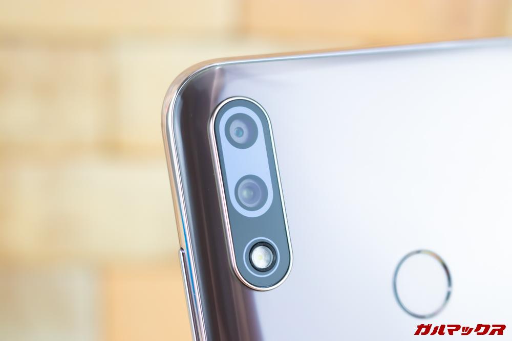 ZenFone Max Pro (M2)はAIデュアルカメラを搭載