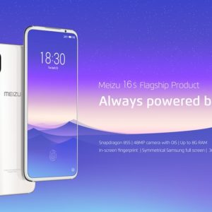 Meizuからハイエンド機「Meizu 16s」が発表!