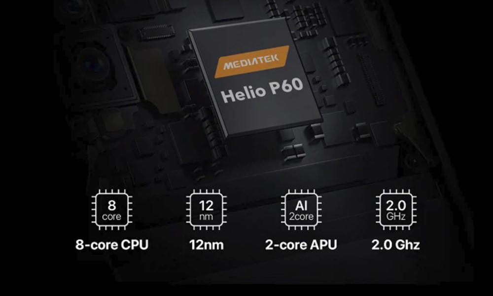UMIDIGI F1 PlayはHelio P60とメモリ6GB、容量64GBを搭載するミドルレンジのスマートフォン