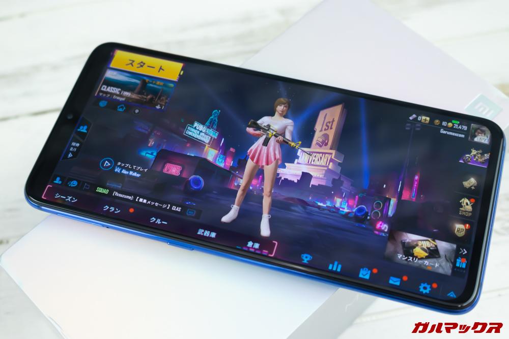 Xiaomi Mi 9でPUBG mobileをプレイ