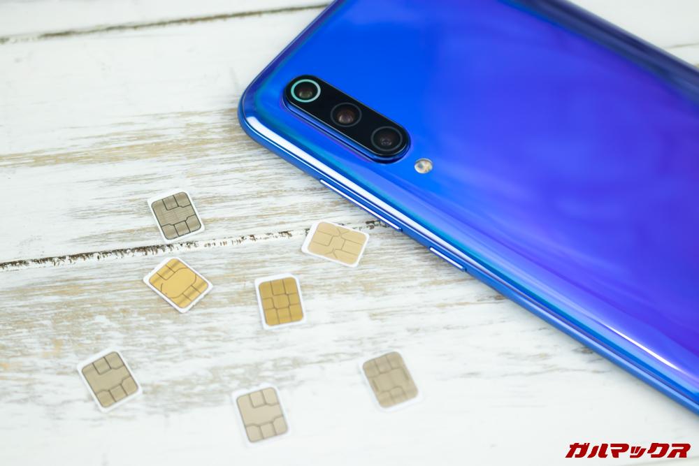 Xiaomi Mi 9の対応バンドをチェック