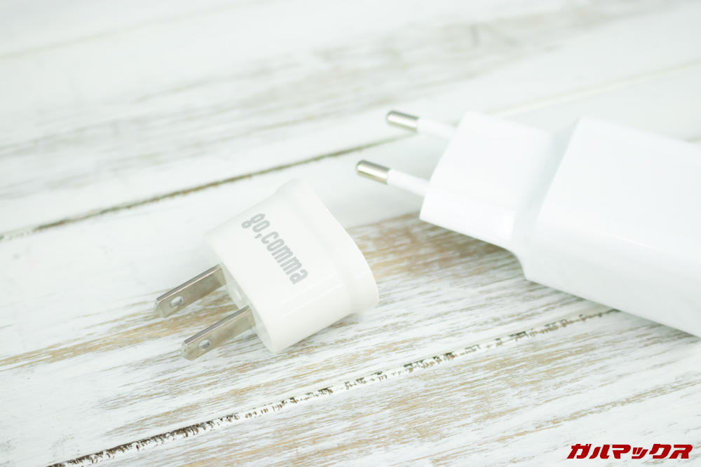 Xiaomi Mi 9はGEARBESTで購入するとプラグ変換アタッチメントが付属していました。