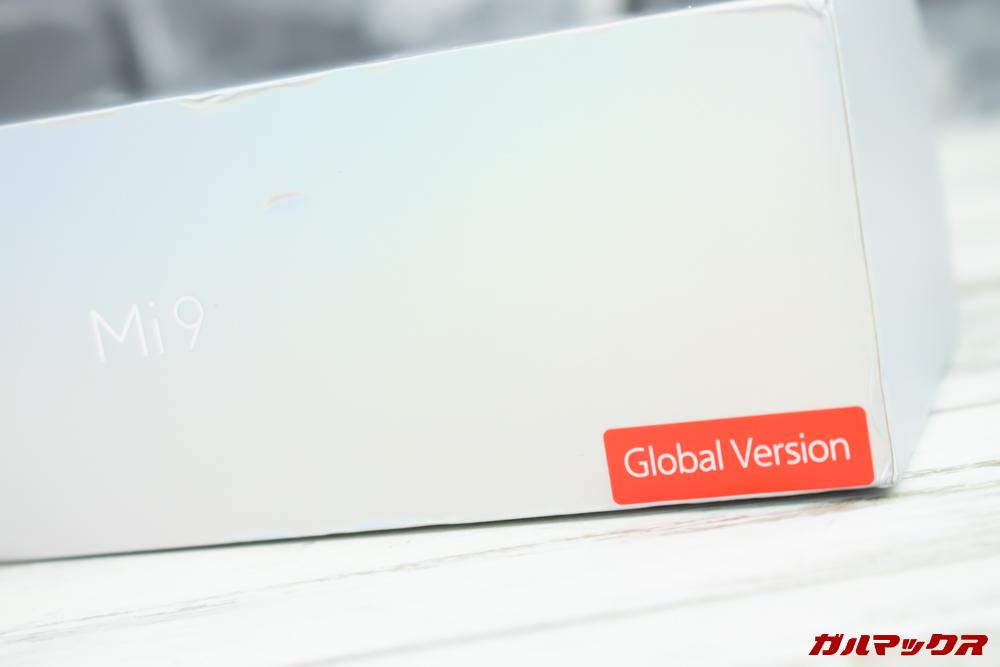 Xiaomi Mi 9は日本語に対応するグローバルモデルが登場しました。