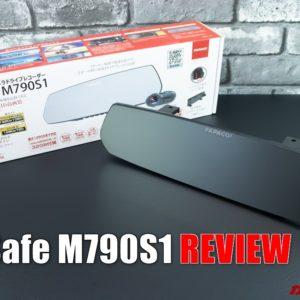 GoSafe M790S1レビュー。ミラー型ドラレコの利点と注意点