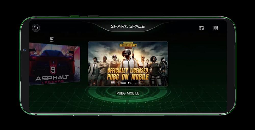 Black Shark 2はALL-NEW Shark Spaceモードを搭載