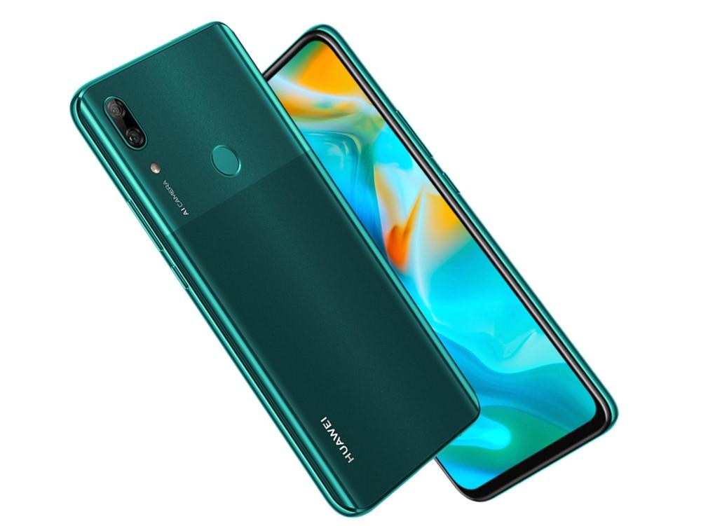 Huawei P smart Zのグリーン