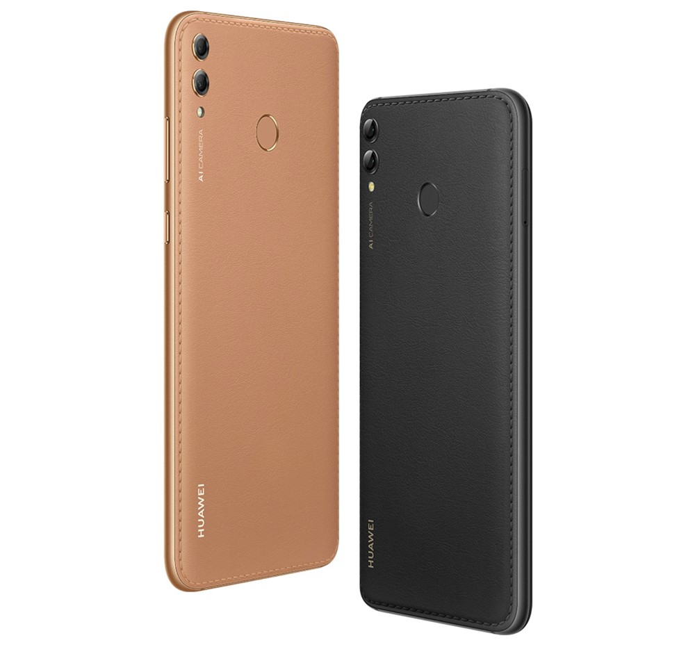 Huawei Y Maxの背面はレザー調