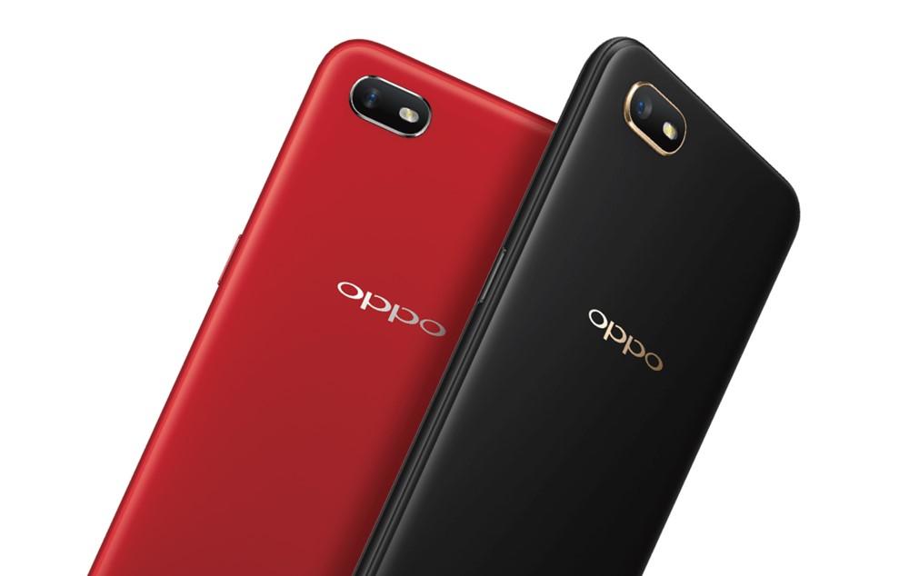 OPPO A1kはレッドまたはブラックのカラー展開