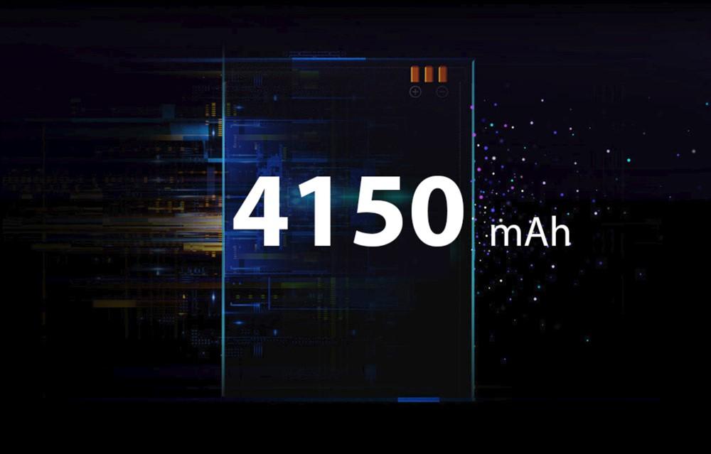 UMIDIGI A5 Proは4150mAhの大容量バッテリーを搭載