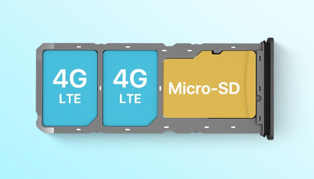 UMIDIGI A5 Proはトリプルスロットを採用。