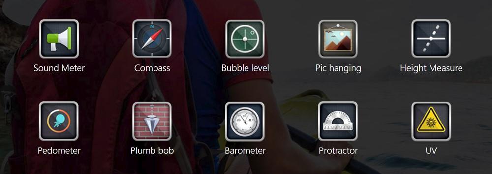 Ulefone Armor 6Eでは様々なツール・アプリがプリインストール