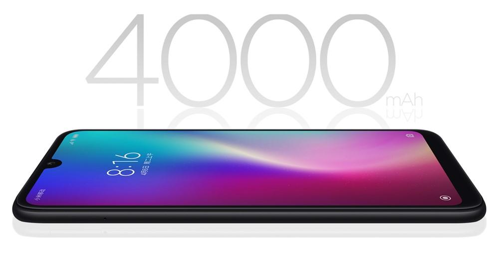Xiaomi Redmi 7は4000mAhバッテリーを搭載