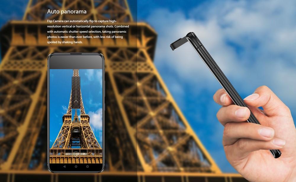 ZenFone 6はパノラマ撮影も激変。自動でカメラが可動してパノラマ撮影をアシストしてくれます。