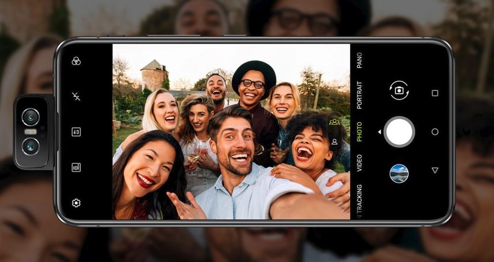 ZenFone 6は超広角撮影に対応