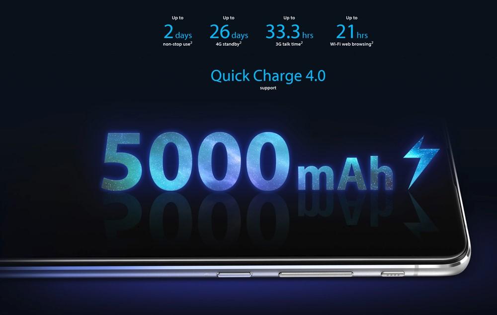 ZenFone 6は超大容量バッテリーを搭載