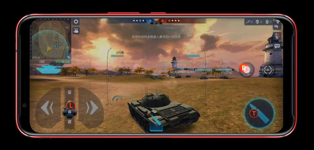 nubia Red Magic 3は仮想キーへの埋込も簡単です。