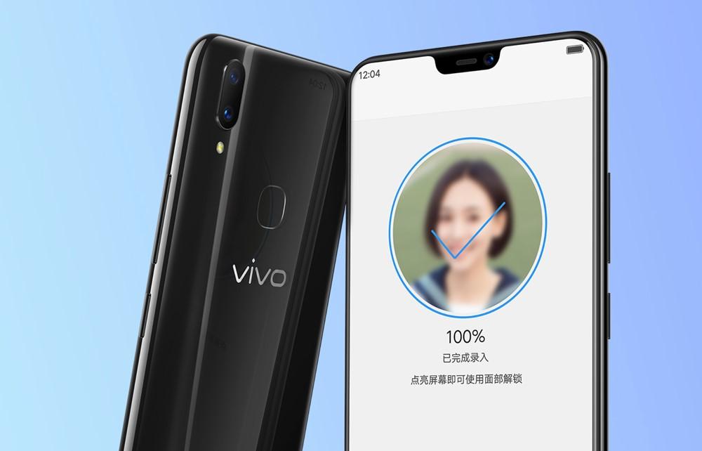 vivo Z3xは顔認証以外に指紋認証も対応