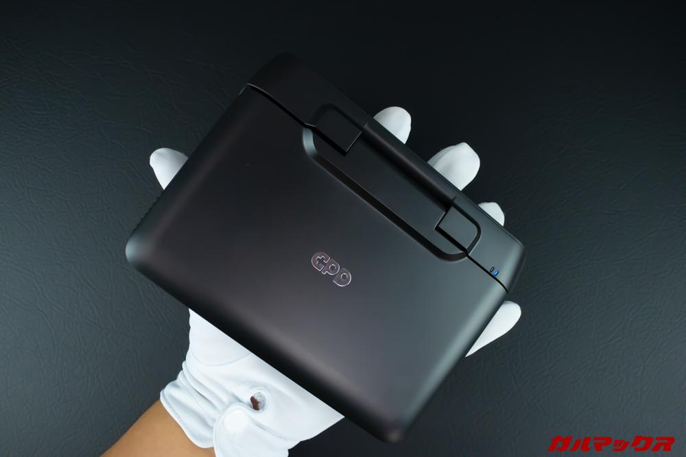 GPD MicroPCの保護フィルムはPDA工房からリリース済みのディスプレイは6型で手のひらに乗るサイズ。