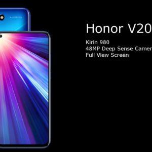 HUAWEI honor V20/メモリ6GB版(Kirin 980)の実機AnTuTuベンチマークスコア