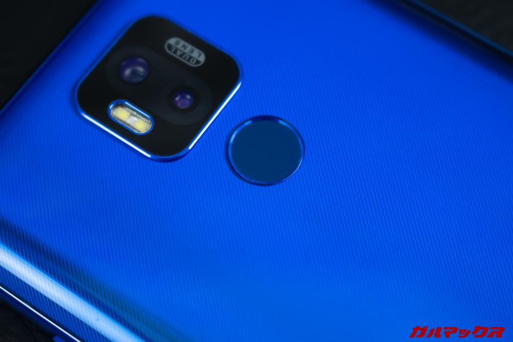 UleFone Power 6の顔認証と指紋認証は特に不満なく利用できた。