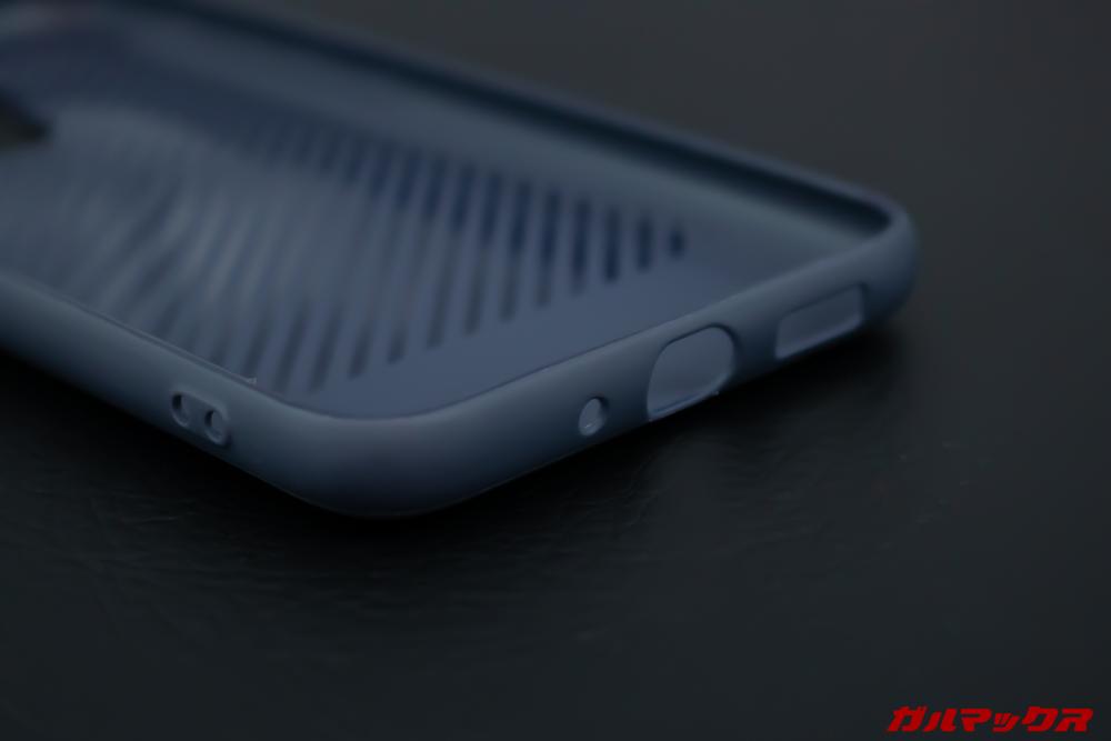 UleFone Power 6に付属の保護ケースは専用品なので非常にクオリティーが高い